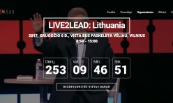 Live2Lead: Lietuva renginio svetainė
